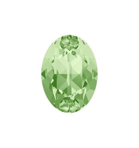 18x13mm Chrysolite F (238) Oval Fancy Stone 4120 Swarovski Elements