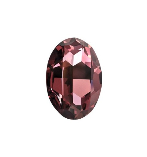 14x10mm Crystal Antique Pink F (001 ANTP) Oval Fancy Stone 4120 Swarovski Elements