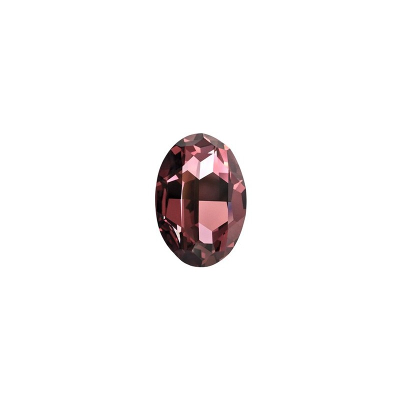 25x18mm Crystal Antique Pink F (001 ANTP) Oval Fancy Stone 4120 Swarovski Elements