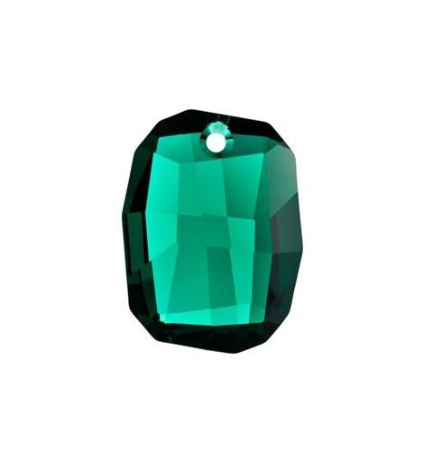 28MM Emerald (205) Graphic Pendant 6685 SWAROVSKI ELEMENTS