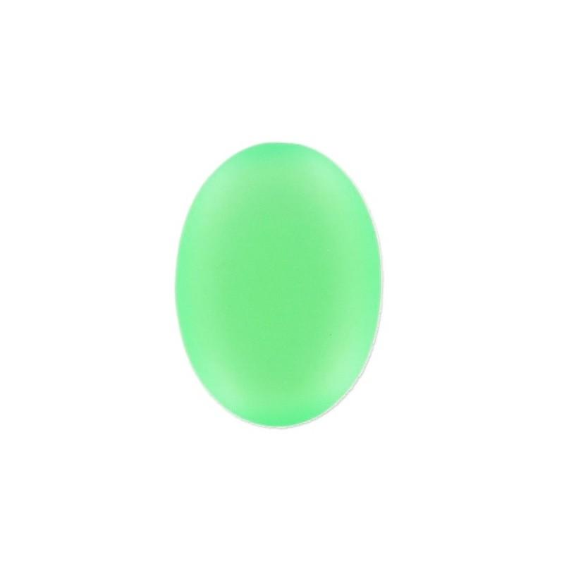 25x18мм Vert Fluo Lunasoft Lucite Овальный Кабошон