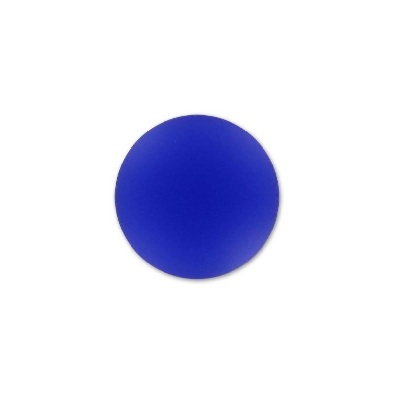 18mm Cobalt Lunasoft Lucite Round Cabochon