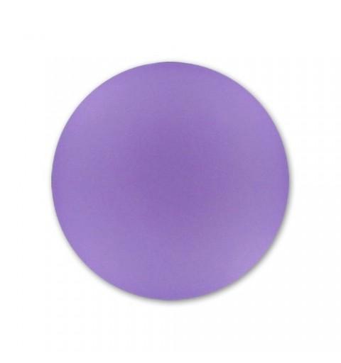 18mm Violet Lunasoft Lucite Round Cabochon
