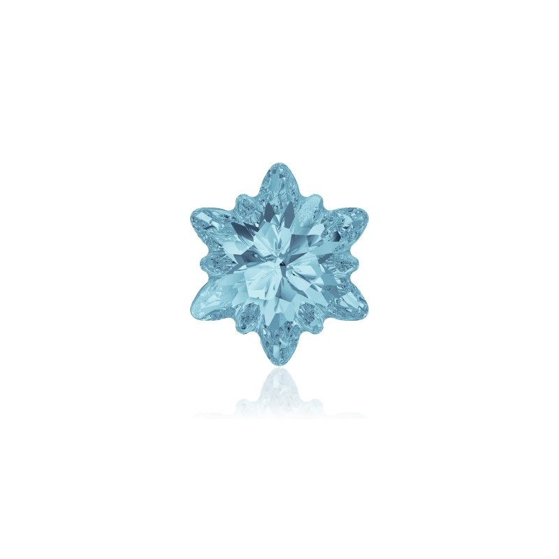 14mm Aquamarine F (202) Edelweiss Ehete Kristall 4753 Swarovski Elements