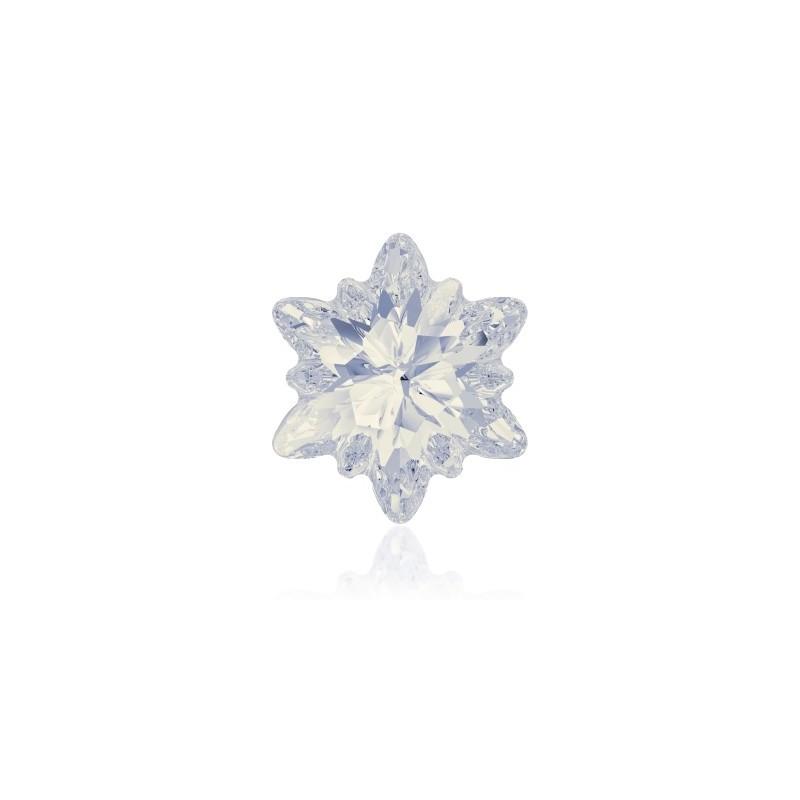 14mm White Opal F (234) Edelweiss Fancy Stone 4753 Swarovski Elements