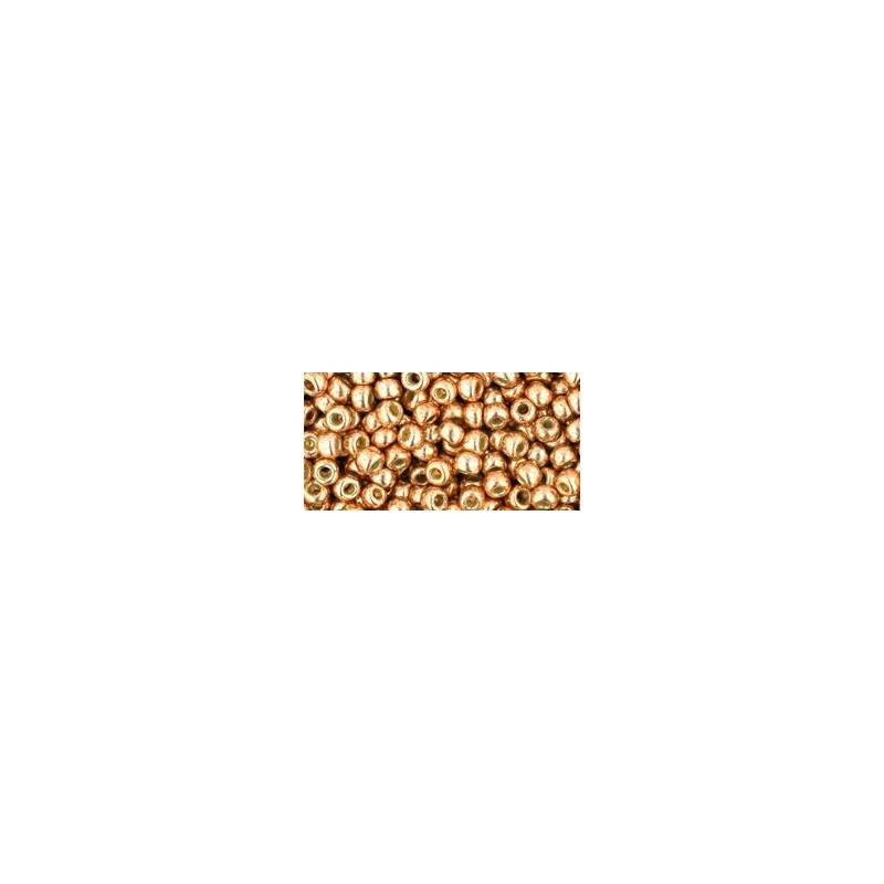 TR-08-PF551 Permanent Finish - Galvanized Rose Gold TOHO БИСЕР