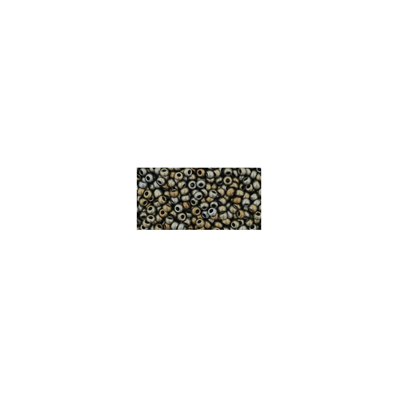 TR-11-83F Frosted Metallic Iris Brown TOHO Seed Beads