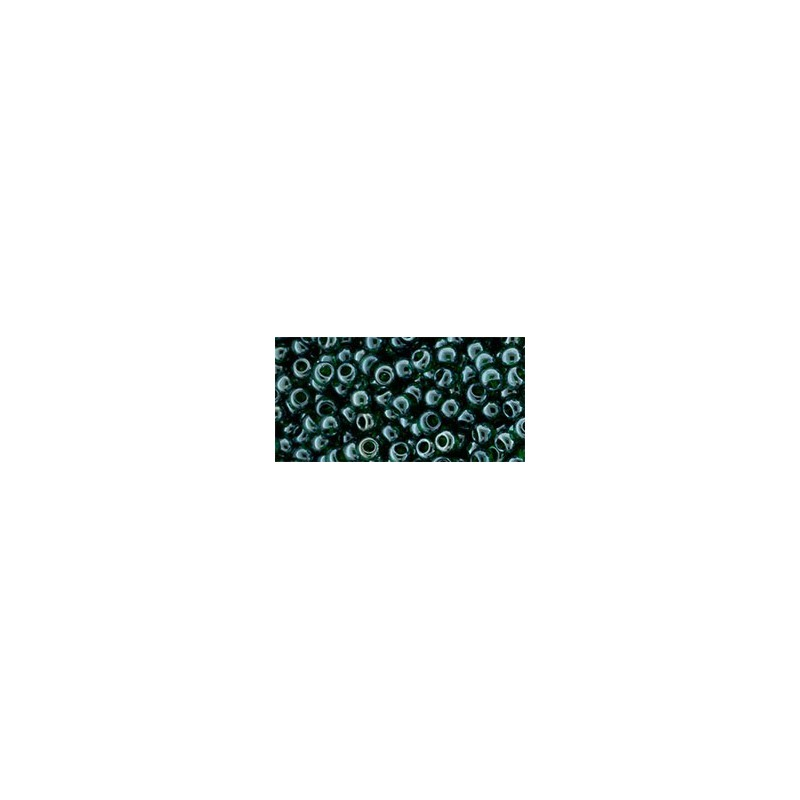TR-11-118 Trans-Lustered Green Emerald TOHO Seed Beads