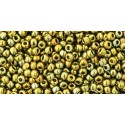 TR-11-513 Galvanized Carnival TOHO Seed Beads
