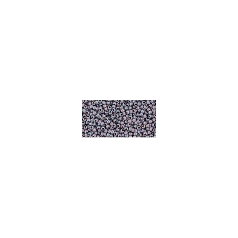 TR-11-Y862 HYBRID Oxidized Bronze Purple TOHO Seed Beads