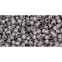 TR-11-PF2115 Permanent Finish - Silver-Lined Milky Gray TOHO Seed Beads