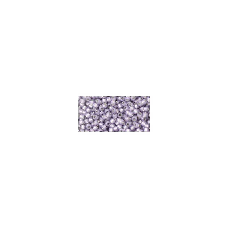TR-11-PF2122 Permanent Finish - Silver-Lined Milky Alexandrite TOHO Seed Beads
