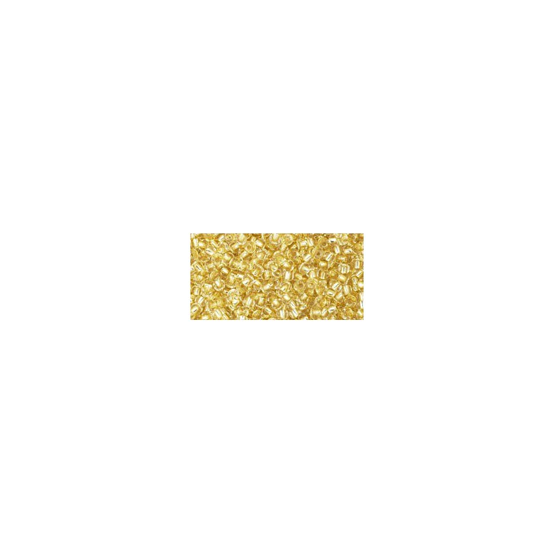 TR-11-2151S Silver-Lined Champagne TOHO Seed Beads