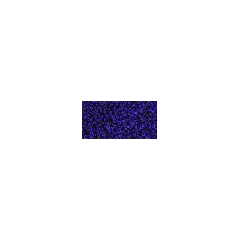 TR-15-8 Transparent Cobalt TOHO Seed Beads