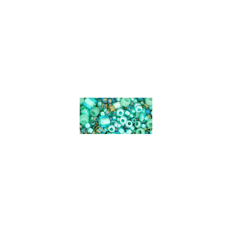 TX-01-3203 Take- Seafoam/Green Mix TOHO Seed Beads