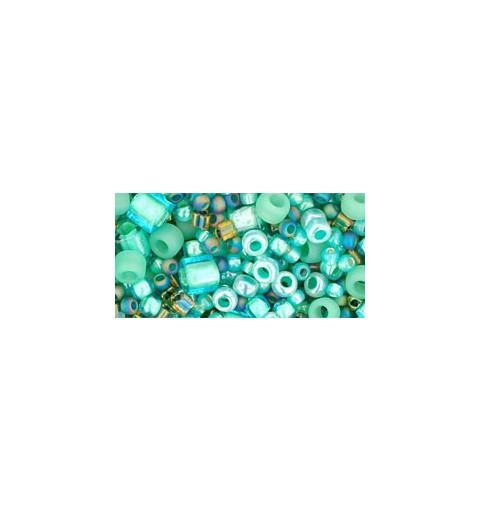 TX-01-3203 Take- Seafoam/Green Микс ТОХО Бисер