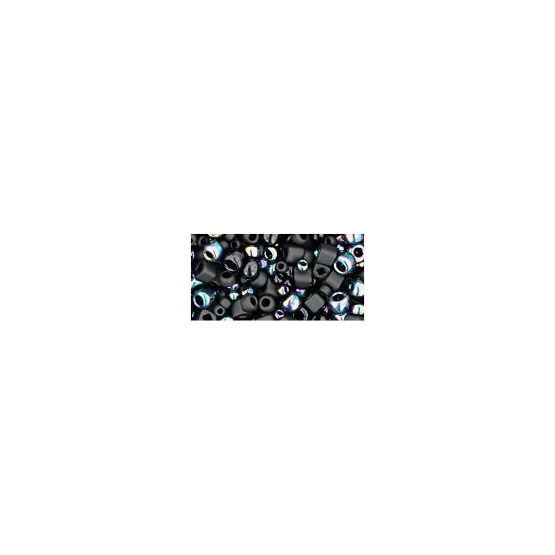 TX-01-3210 Borakku- Black Miks TOHO Seemnehelmed