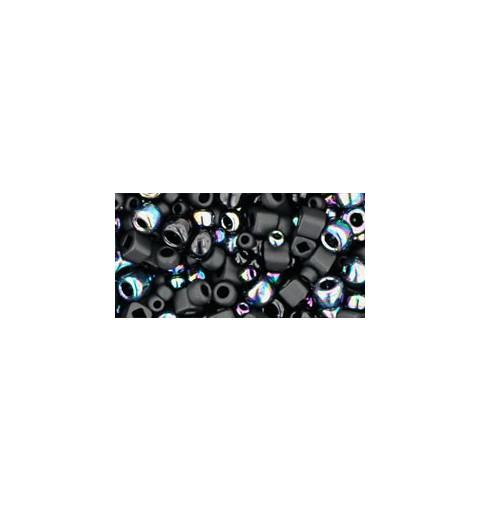 TX-01-3210 Borakku- Black Mix TOHO Seed Beads