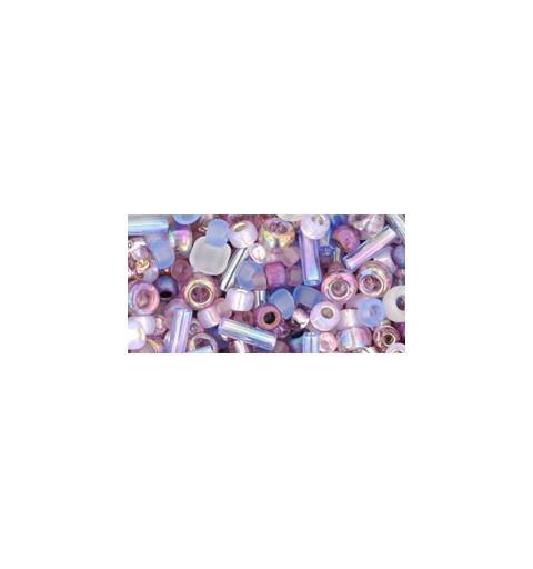 TX-01-3216 Kimono- Lilac Микс ТОХО Бисер