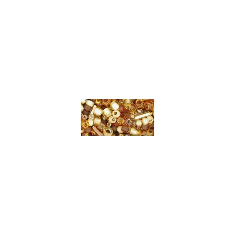 TX-01-3219 Kohaku- Amber Mix TOHO Seed Beads