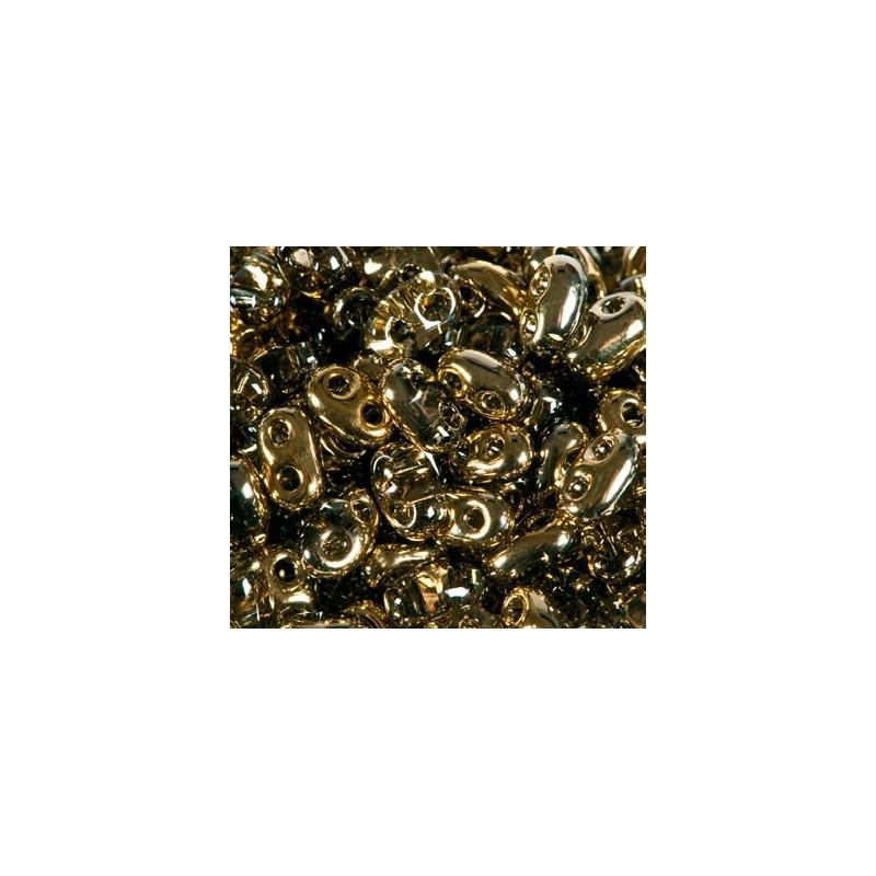 Twin-2RH-0005m Crystal-Amber ORNELA Бисер