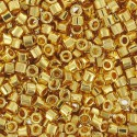 DBC-0031 24KT Gold Plated Miyuki DELICA Hex Cut 11/0 Seed Beads