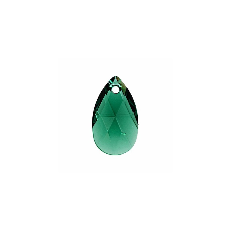 22MM Emerald (205) Pendants 6106 Pear-shaped SWAROVSKI ELEMENTS