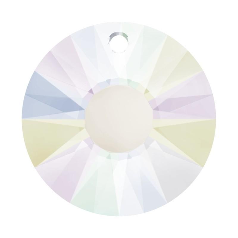 33MM Crystal AB (001 AB) Sun Pendant 6724 SWAROVSKI ELEMENTS
