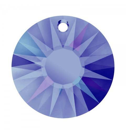 33MM Crystal Heliotrope P (001 HEL) Sun Pendant partly frosted 6724/G SWAROVSKI ELEMENTS