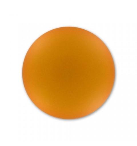 18mm Topaz Lunasoft Lucite Round Cabochon