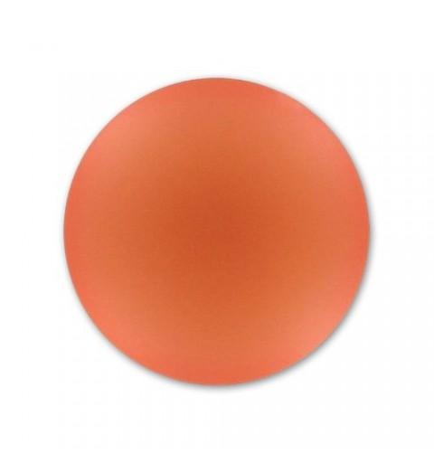 18mm Rose Peach Lunasoft Lucite Round Cabochon