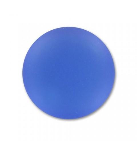 24mm Sapphire Lunasoft Lucite Round Cabochon