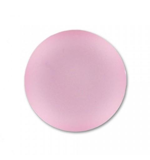 24mm Rose Lunasoft Lucite Round Cabochon