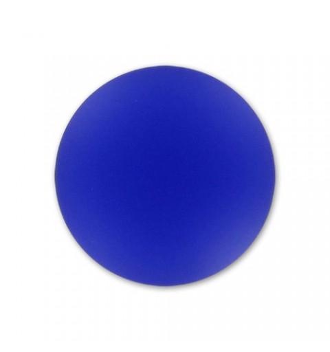24mm Cobalt Lunasoft Lucite Round Cabochon