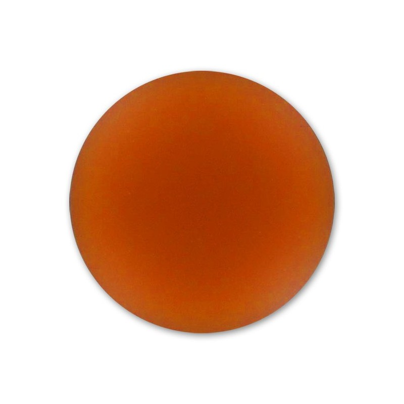 18mm Copper Lunasoft Lucite Round Cabochon