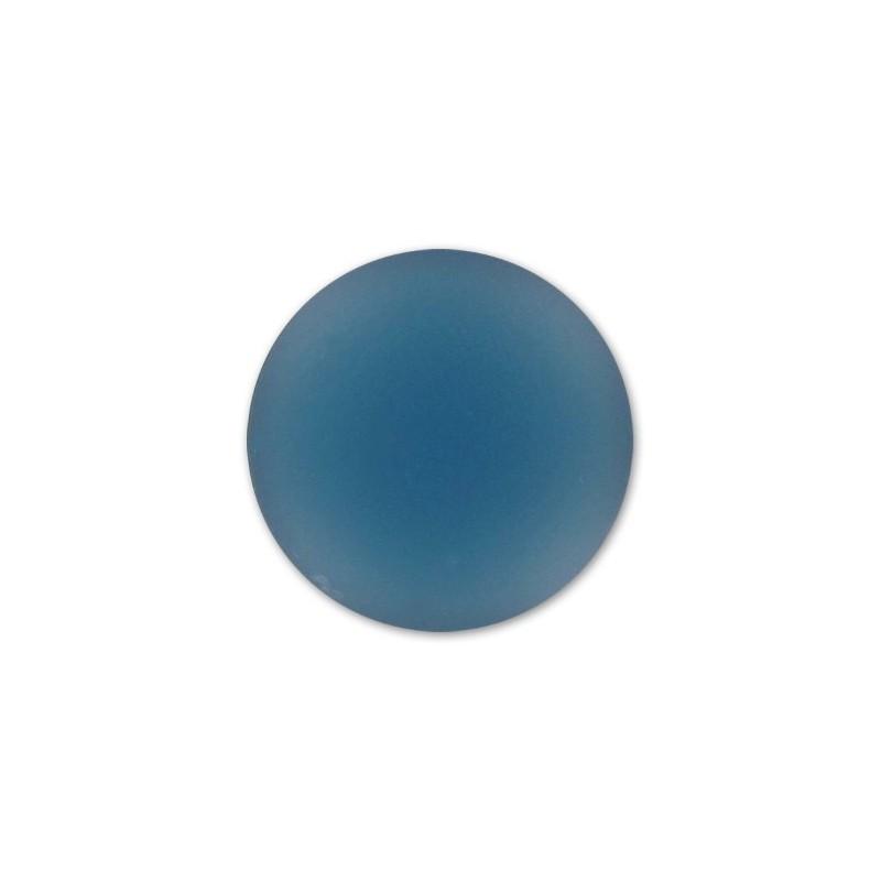 18mm Denim Blue Lunasoft Lucite Ümmargune Cabochon