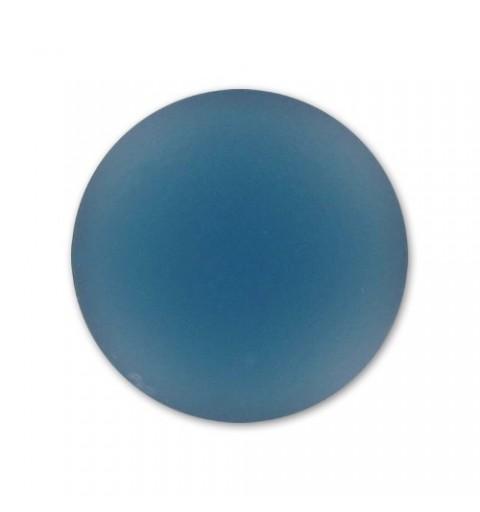 24mm Denim Blue Lunasoft Lucite Ümmargune Cabochon
