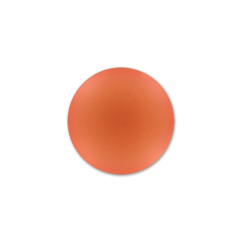 24mm Rose Peach Lunasoft Lucite Round Cabochon