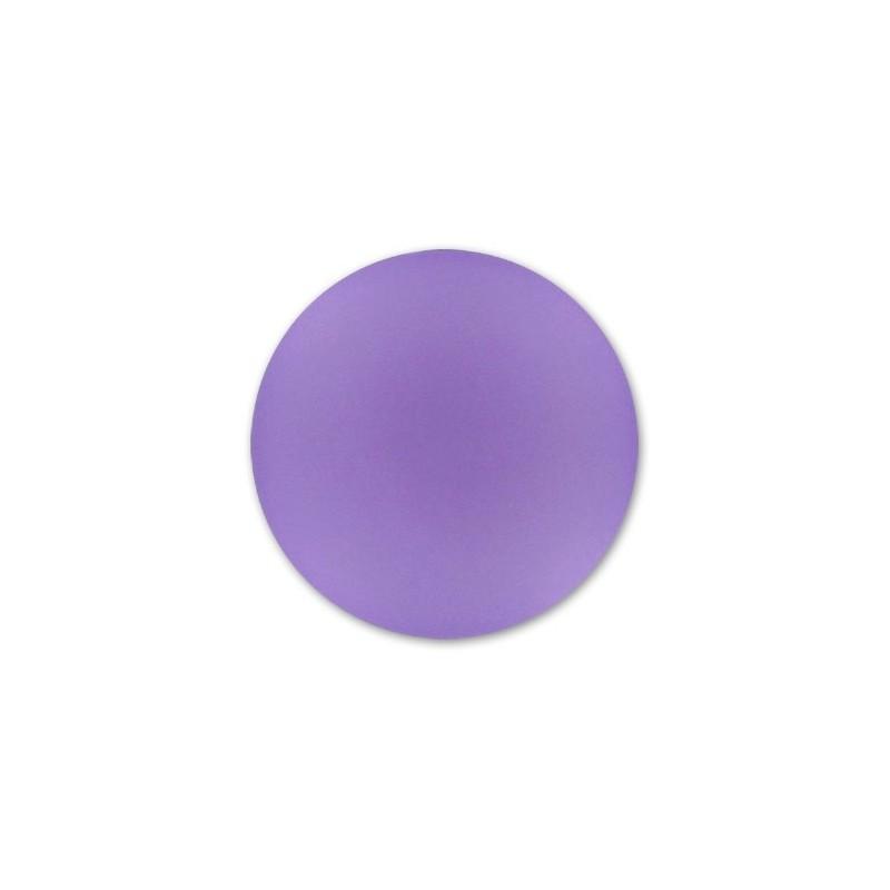 24mm Violet Lunasoft Lucite Round Cabochon