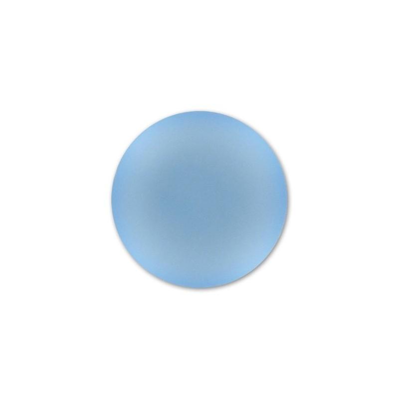 18mm Blue Ciel Lunasoft Lucite Round Cabochon