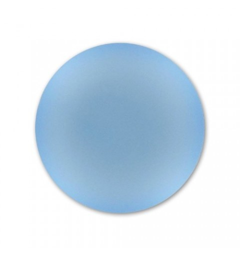 24mm Blue Ciel Lunasoft Lucite Round Cabochon