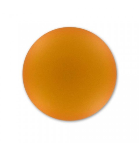 24mm Topaz Lunasoft Lucite Round Cabochon