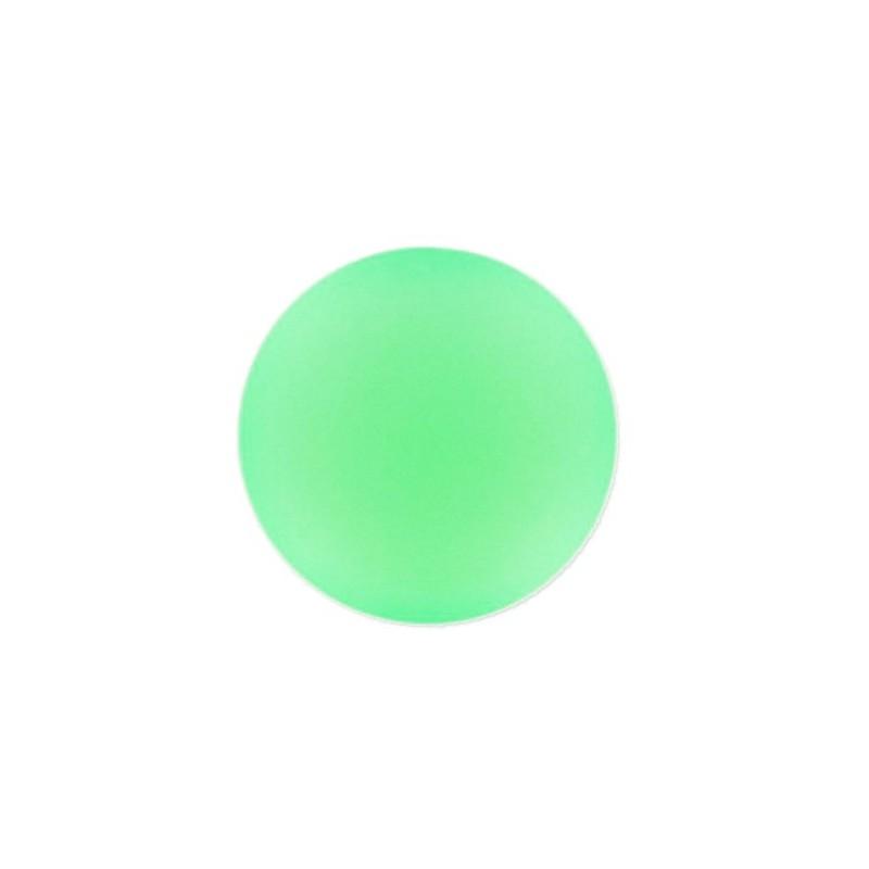 18mm Vert Fluo Lunasoft Lucite Round Cabochon