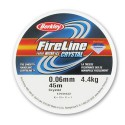 0.06mm/4.4kg FireLine Micro Ice Crystal braided nylon thread 45m