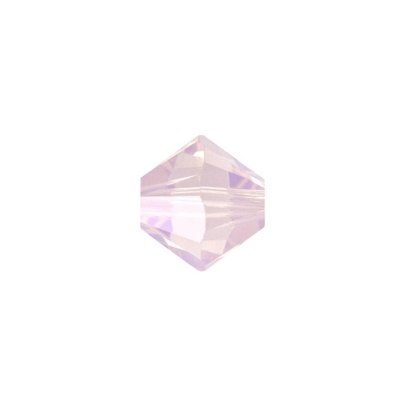4MM Rose Water Opal (395) 5328 XILION Bi-Cone Helmed SWAROVSKI ELEMENTS
