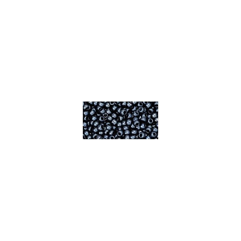 TR-11-81 Metallic Hematite TOHO Seed Beads