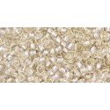 TR-11-PF21 Permanent Finish - Silver-lined Crystal TOHO Seed Beads