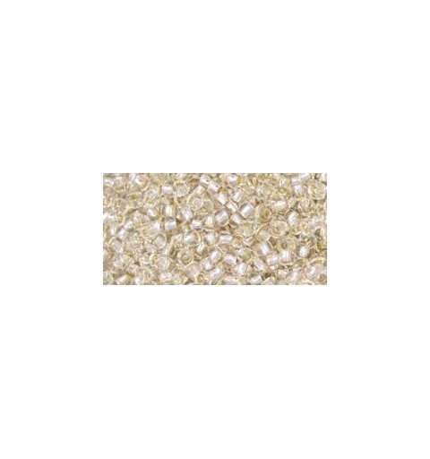 TR-11-PF21 Permanent Finish - Silver-lined Crystal ТОХО Бисер
