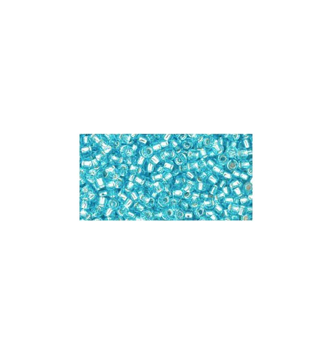 TR-11-23 Silver-Lined Aquamarine TOHO Seed Beads