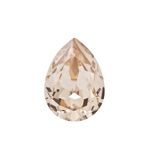 18x13mm Light Silk F (261) Pear-Shaped Fancy Stone 4320 Swarovski Elements